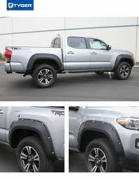 100 Wheel Flares For Trucks Pocket BoltRiveted Style Fender For 20162018 Toyota Tacoma