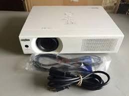 sanyo plc xu115 eiki xb42n portable projector 4500 lumens new