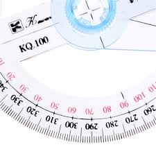 Dia10cm 360 Degree Protractor 10cm Angle Finder Sewing Student