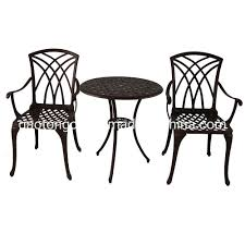 [Hot Item] Rust Proof 3 Seats Cast Aluminum Outdoor Patio Furniture