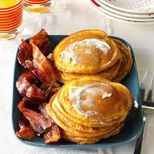 Easy Healthy Pumpkin Pancake Recipe by Fluffy Pumpkin Pancakes Recipe Taste Of Home
