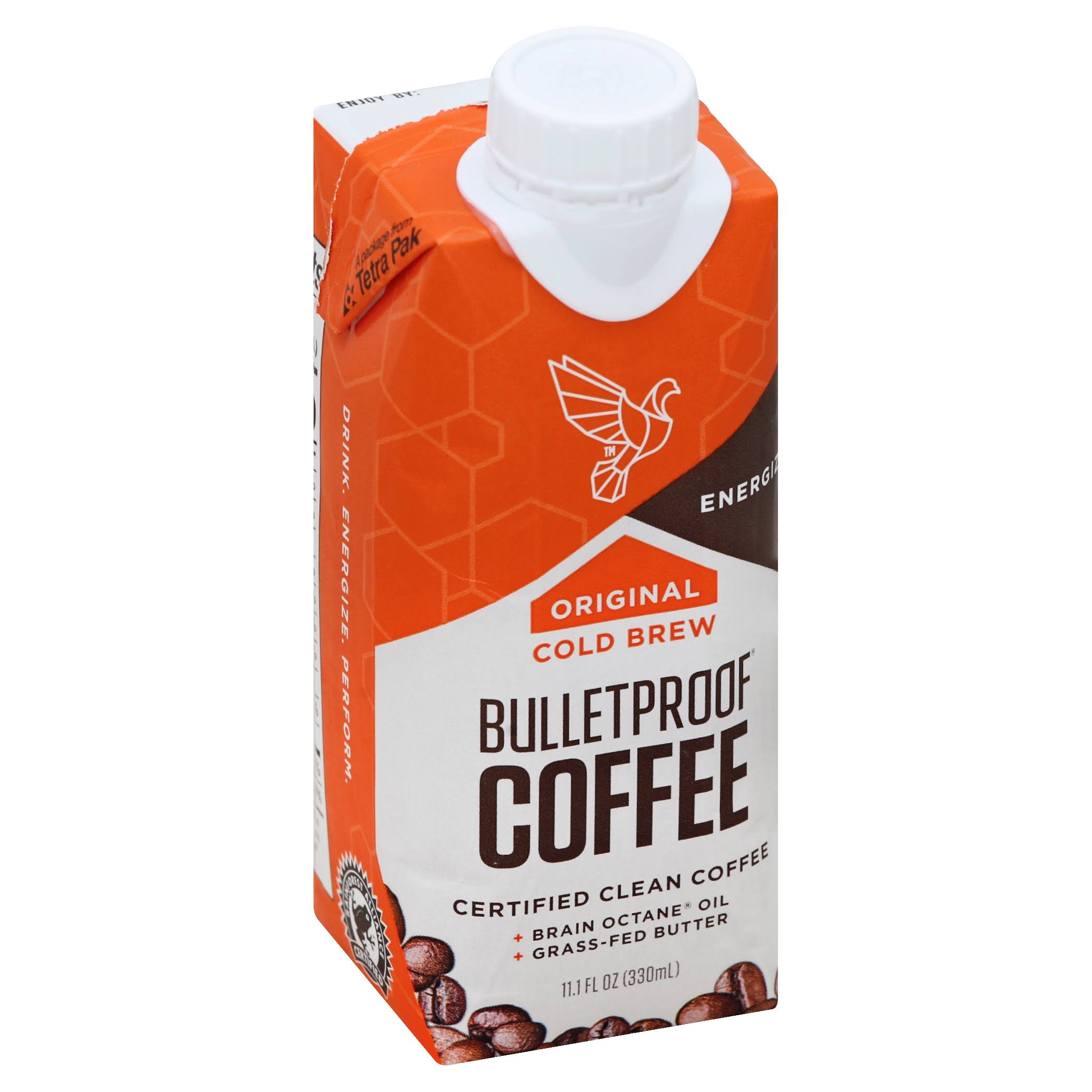 Bulletproof Coffee, Cold Brew, Original - 11.1 fl oz