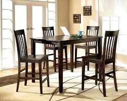 Ashley Furniture Bar Sets Reddish Brown Counter Height Dining Room Table And Set Of View 1 Desk