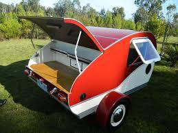 NEW Vintage Style Karavana Teardrop Camper Trailer Small Caravan