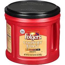 Folgers Country Roast Mild Ground Coffee 311 Oz