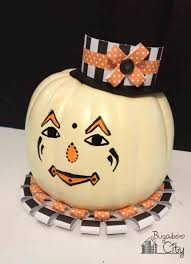 Scary Clown Pumpkin Stencils Free by Diy Vintage Clown Pumpkins Decorating With Paper And Paint