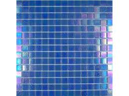 Iridescent Mosaic Tiles Uk by Iridescent Glass Mosaic Azure