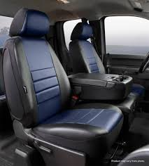 LeatherLite Custom Seat Cover, Fia, SL69-14BLUE | Titan Truck ...
