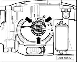 i want to change the headlight bulbs on a 2006 audi a4