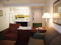 Residence Inn Portland Hillsboro Living Room Kitchen And Front Door