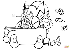 Click The Go To Beach Coloring Pages View Printable Version Or Color It Online Compatible With IPad And Android Tablets