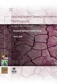 PDF) Commonwealth MBI Pilot Project: Dryland Salinity Credit Trade