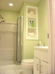 Interior Astounding Small Bathroom In Light Green Including e