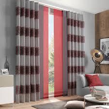 schiebe gardine und dekostoff für ihr wohnzimmer