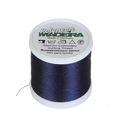 Madeira Embroidery Thread - 440yds, Navy Blue