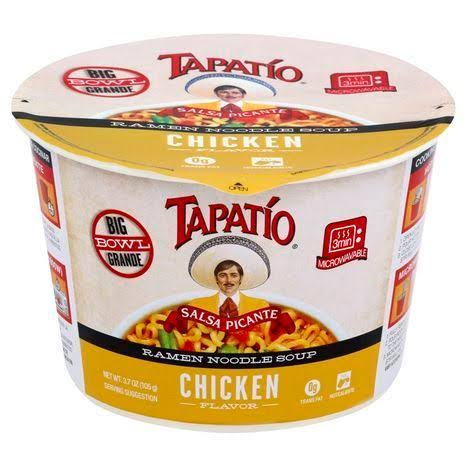 Tapatio Ramen Noodle Soup, Salsa Picante, Chicken Flavor - 3.7 oz