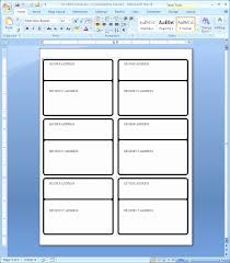 Avery 8163 Label Template Word 5163 New Blank Free