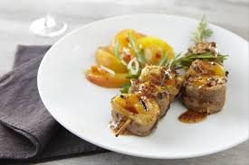 recette de brochette de magret de canard et abricot au barbecue