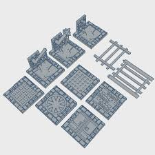 3d Printed Dungeon Tiles by 3d Printable Evil Dungeon Traps Pack 1 Epicdungeontiles