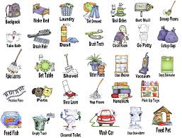 28 Collection Of Kids Chores Clipart