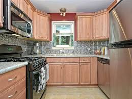 American Woodmark Kitchen Cabinet Doors by Country Kitchen With Limestone Tile Floors U0026 Flush In Austin Tx