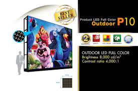 LED Display Full Color Outdoor P10
