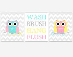 Cheap Owl Bathroom Accessories by Owl Bathroom Decor Etsy