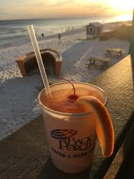 The Back Porch in Destin Florida cocktails