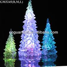 Wholesale 2018 One Group Fiberglass Christmas Tree With Led Light