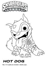 Skylanders Swap Force Coloring Pages Printable Superchargers Giants Colouring