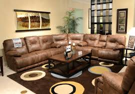 Thayer Coggin Sofa Sectional by Leather And Cloth Sectional Compass Power Reclining 8 Pc Lsf Rsf