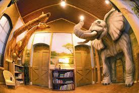 Safari Themed Living Room Ideas by Extreme Makeover Home Edition Safari Bedroom Hulfish