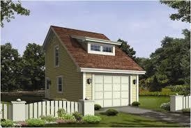 Nestor Woods 1 Car Garage Plans