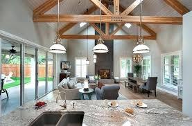Open Floor Kitchen Living Room Plans Plan For Dining