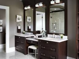 60 Bathroom Vanity Ideas With Makeup Station - ROUNDECOR A Look At Walnut Bathroom Vanity Ideas Gretabean Mirror 37 Modern For Your Next Remodel 2019 Small Square Black Stained Wooden Frame Glass Direct Double For Vanities Design 25966 From A Floating To Vessel Sink Guide Unique Luxury Home Ipirations 40 That Overflow With Style Great Bathrooms Lessenziale Exclusive Grey 60 With Makeup Station Roundecor Dressing Table Sink Vanity Wood In Traditional And Designs Traba