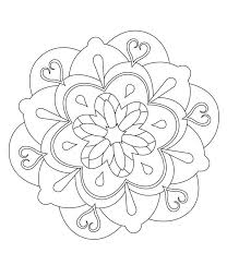 Zen Design Adult Coloring Pages Books Colouring Embroidery Patterns Heart Shapes Stencil Woodburning