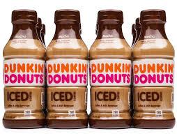Dunkin Donuts Iced Coffee 12 X 137 Oz