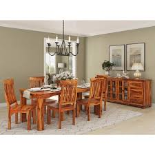 Dorset Four Seater Dining Set In Dual Tone Finish