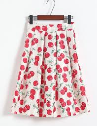 popular long pleated floral skirt buy cheap long pleated floral