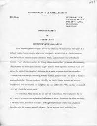 Pumpkin Patch Lawrence And Benton by Judge Lowy U0027s Sentencing Memorandum Salemnews Com