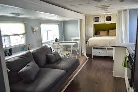 Image Of Old Camper Remodel Inside