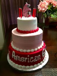 American Girl Cake From Sams Club 3 Tier