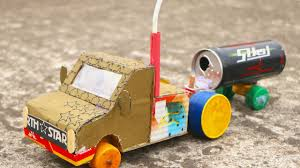 100 Dc Toy Trucks How To Make A Battery Powered Truck With DC Motor Easy Simple
