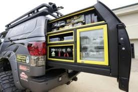 Storage Bench Pull Out Truck Bed Storage Store n Pull Truck