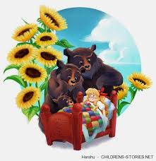Goldilocks And The Three Bears In Poem Form By Harshu