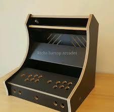 Diy Arcade Cabinet Flat Pack by Classic Bartop Arcade 2 Player Diy Flat Pack Kit 18mm Black