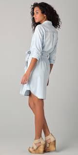 diane von furstenberg dvf loves current elliott denim wrap dress