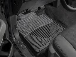 2005 Chevy Colorado Floor Mats by Weathertech All Weather Front Rubber Floor Mats Black W3 Wtw3