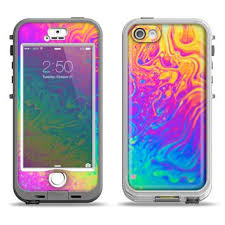 The WaterColor Vivid Tree Apple iPhone from DesignSkinz