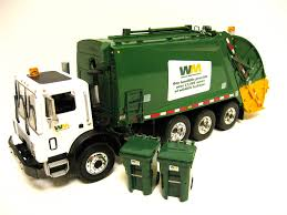 100 First Gear Garbage Truck Waste Management Mack Mr Rear Load Garbage Truc Flickr